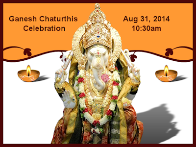 ** EXPIRED ** Ganesh Chaturthis Celebration – Aug 31, 2014