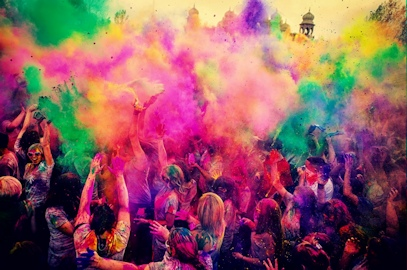 Real Holi Festival With Colors – March 7, 2015