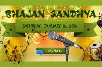 Bhajan Sandhya – Jan 16, 2016