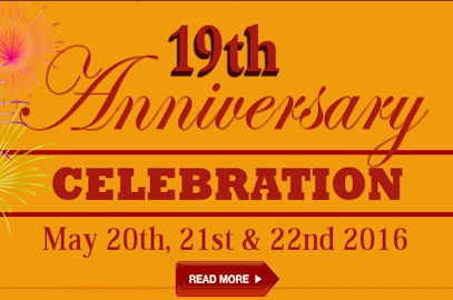 HSGC 19th Anniversary Celebration – May 20-22