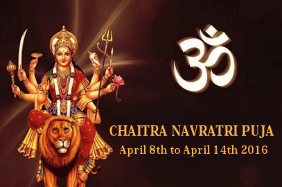 CHAITRA NAVRATRI PUJA  April 8-14, 2016