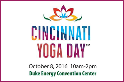 Cincinnati Yoga Day – October 8, 2016
