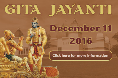Geeta Jayanti Celebration – Dec 11, 2016