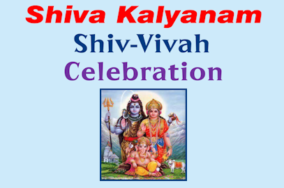 Shiva Kalyanam Shiv-Vivah Celebration – July 30, 2017