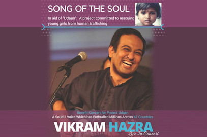 Vikram Hazra – Benefit Concert To Stop Human Trafficking