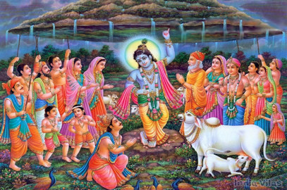 Govardhan Puja – Annakut Mahotsava Celebration – Oct 29, 2017