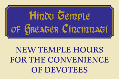 Temple Hours Extended For Devotees Starting Dec 17th