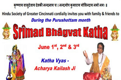 Srimad Bhagvat Katha – June 1, 2nd, & 3rd