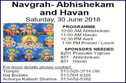 Navgrah Abhishekam and Havan – June 30, 2018